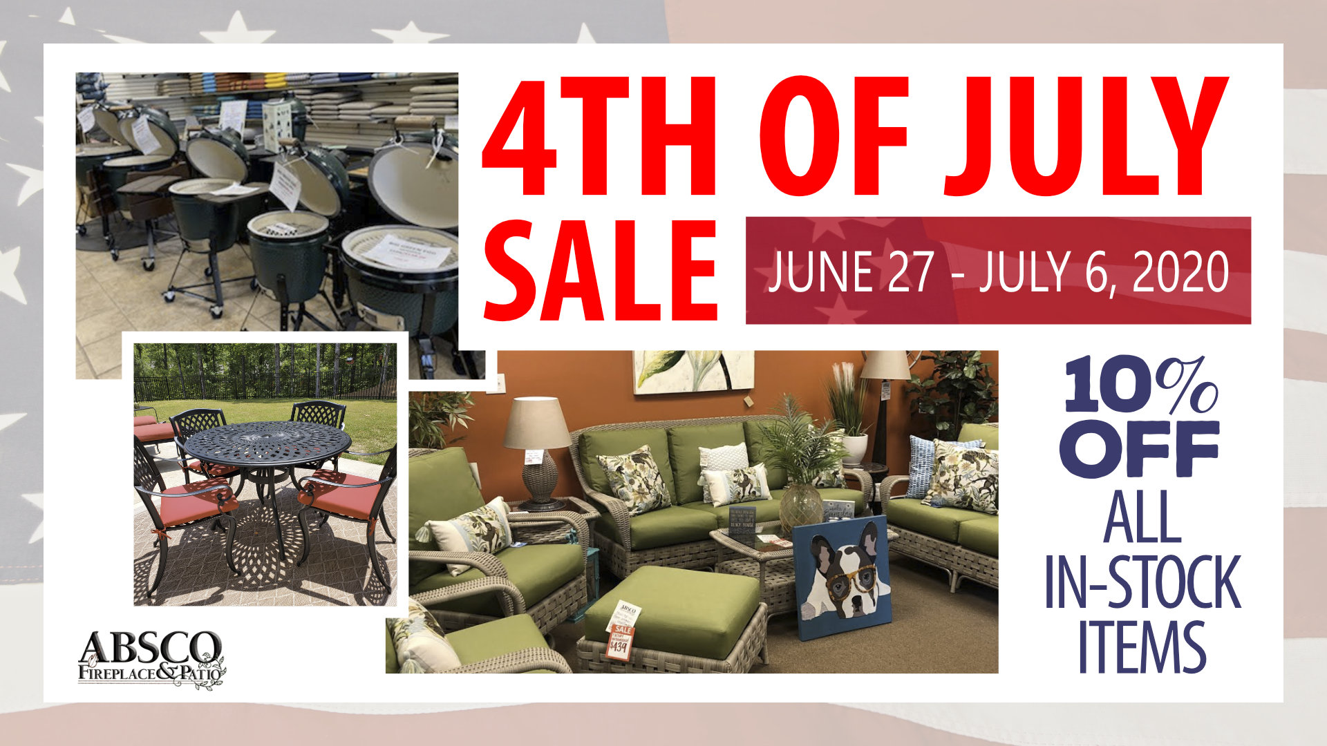 ABSCO - 4th of July Sale 2020