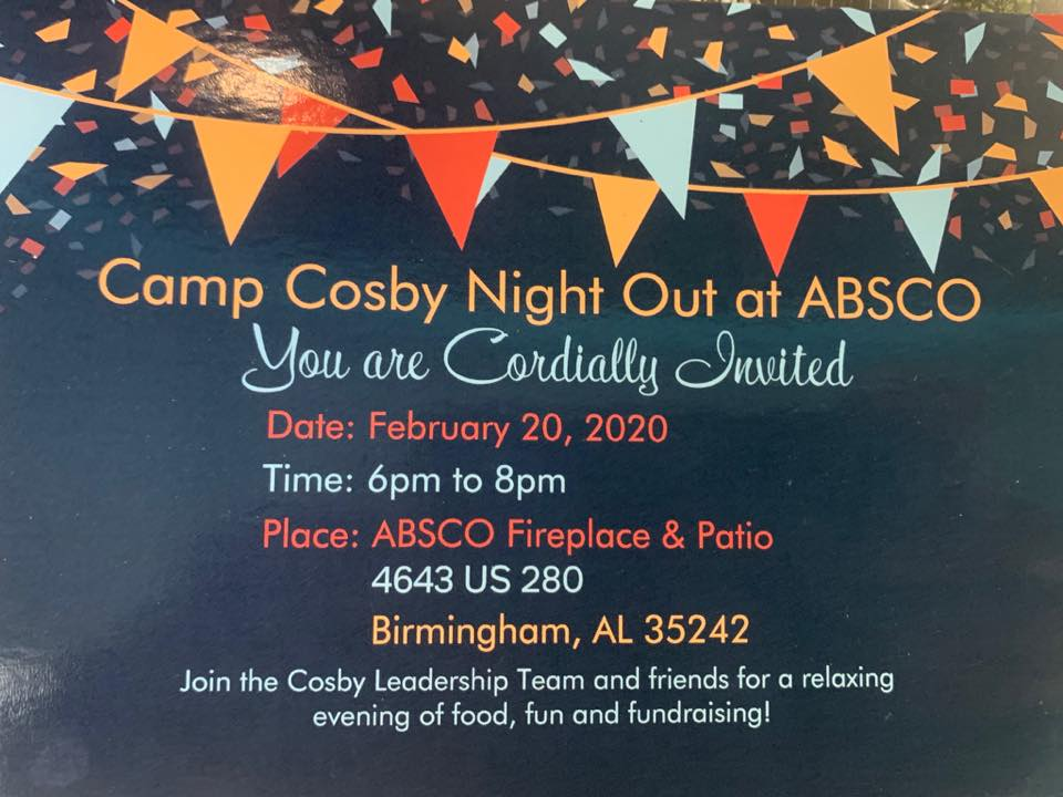 Camp Cosby Night Out at ABSCO (2020)