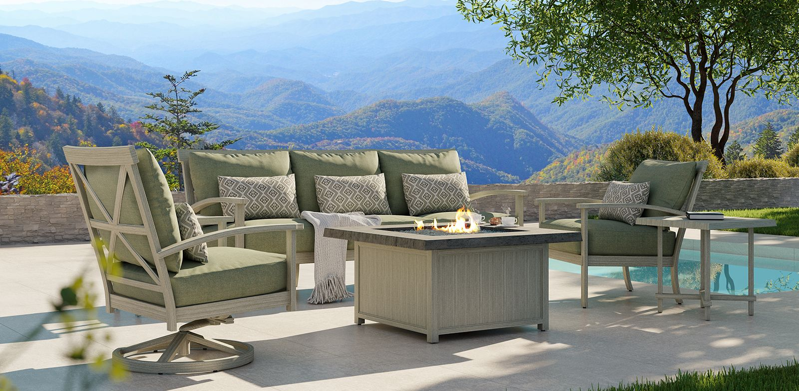 Castelle - Antler Hill - Outdoor Furniture at ABSCO Fireplace & Patio - Birmingham, Alabama
