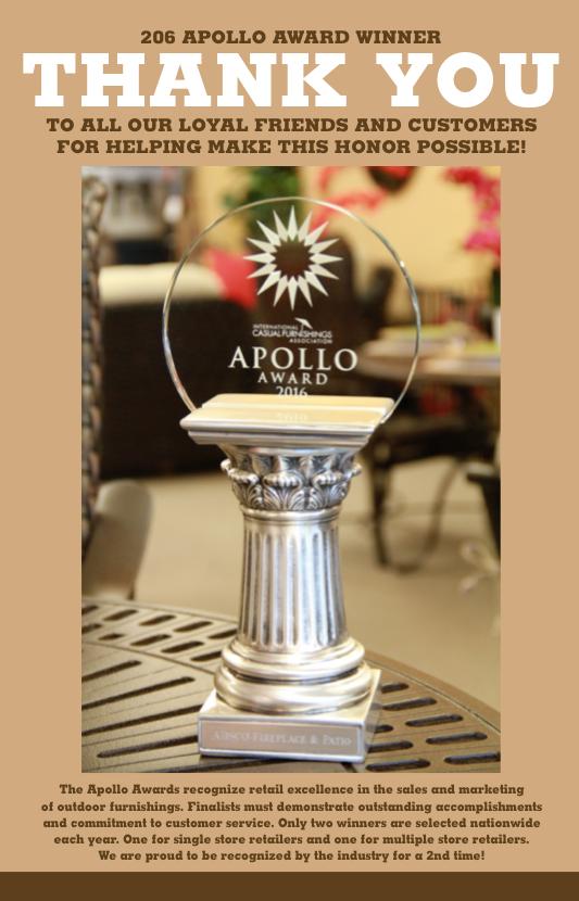 ABSCO Apollo Award